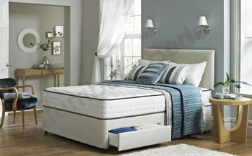 Divan Bed and Orthopaedic Mattress 2B
