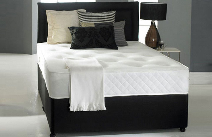 Value 3000 Pocket Memory Foam Divan Bed and Headboard