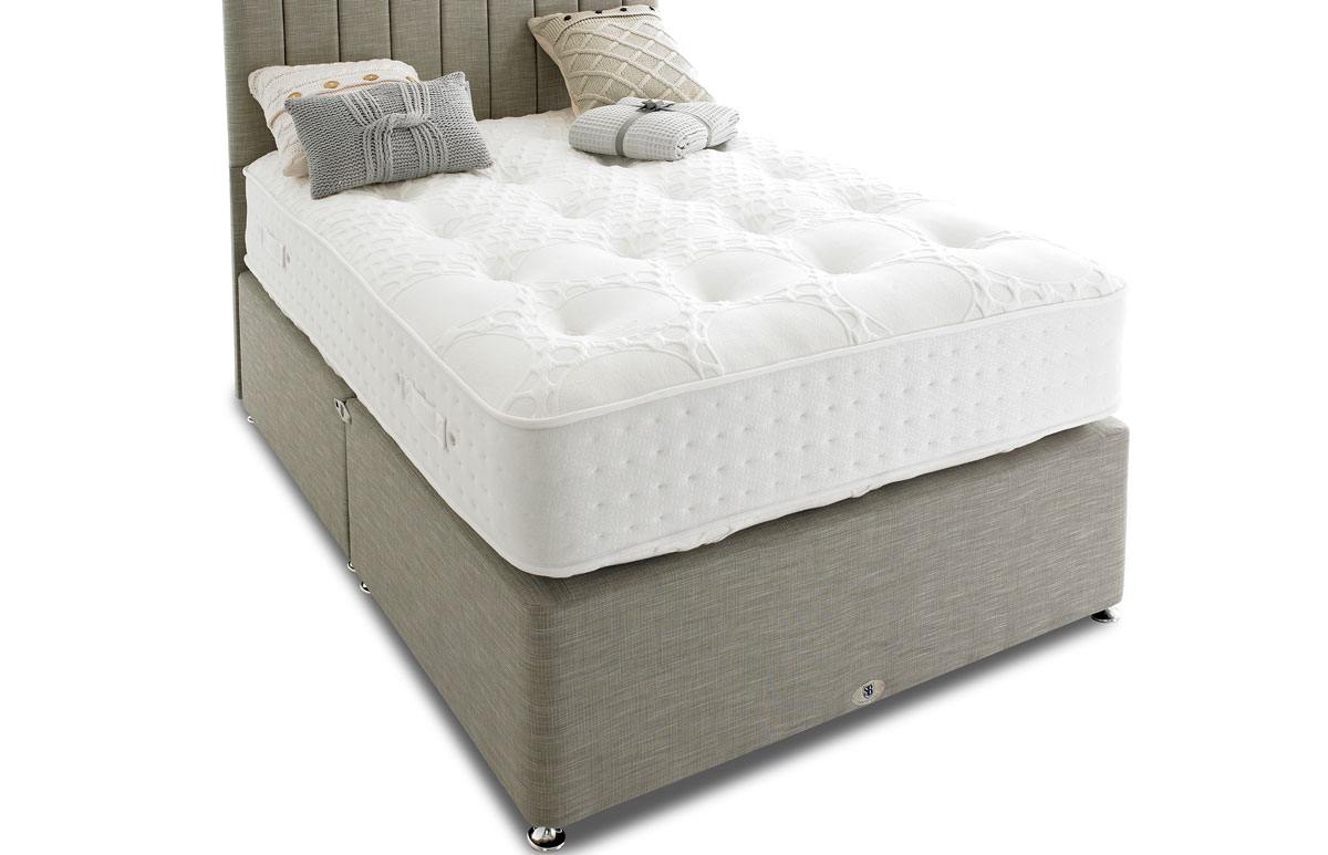 Natural Collection 4000 Pocket Luxury Divan Bed And Mattress Set