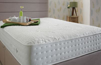 Div12D Natural Collection Encapsulated 2000 Pocket Sprung Divan Linen