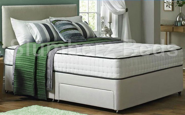 Divan Bed and Memory Foam Mattress 2AA