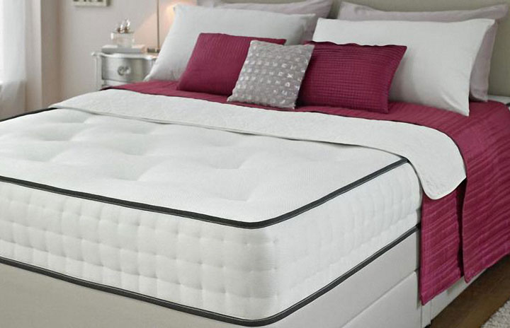 Divan Bed and Memory Foam Mattress 2AE