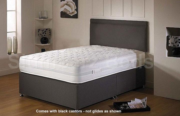 Airflow Divan Bed and Memory Foam Mattress 2K