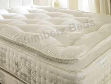 2000 Pocket Pillow Top Mattress Divan 2L