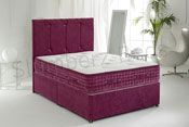 Div2S Luxury 3000 Pocket Divan Rose1