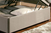 Ottoman-Chenille Ottoman Storage Bed In Chenille Fabric 2