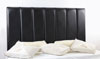 Durham Faux Leather Headboard Black