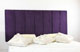 Durham Faux Suede Headboard Purple