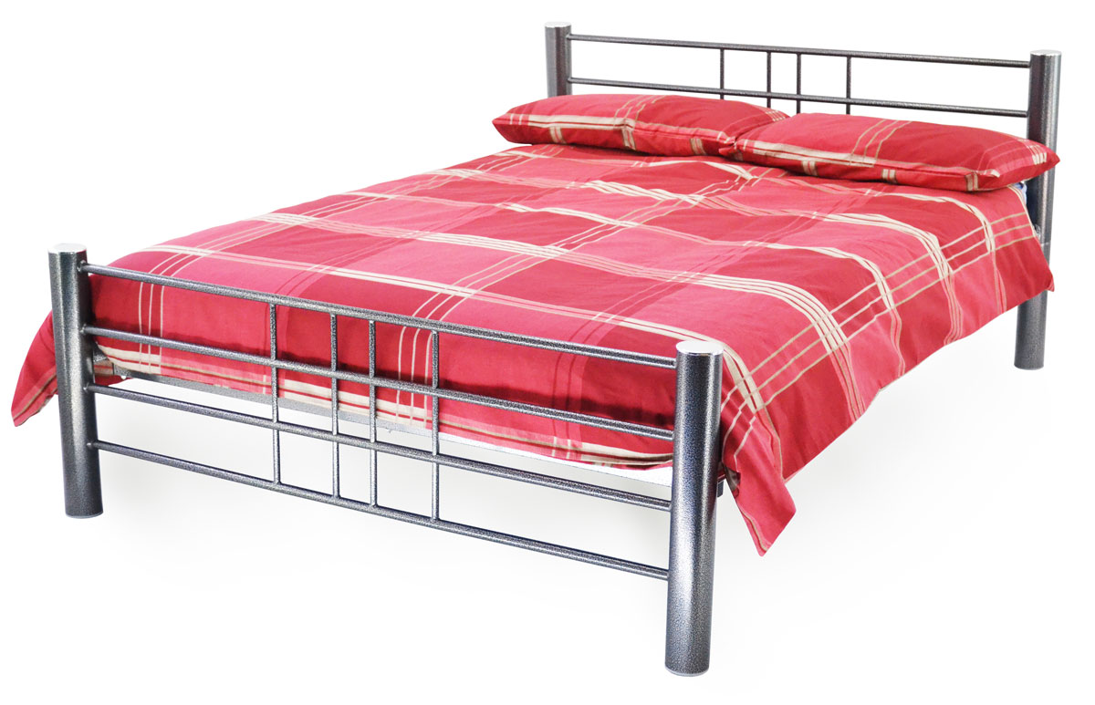contemporary bed frames concord modern metal bedframe 11186