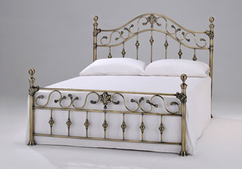 Elgin Bedframe Brass Finials
