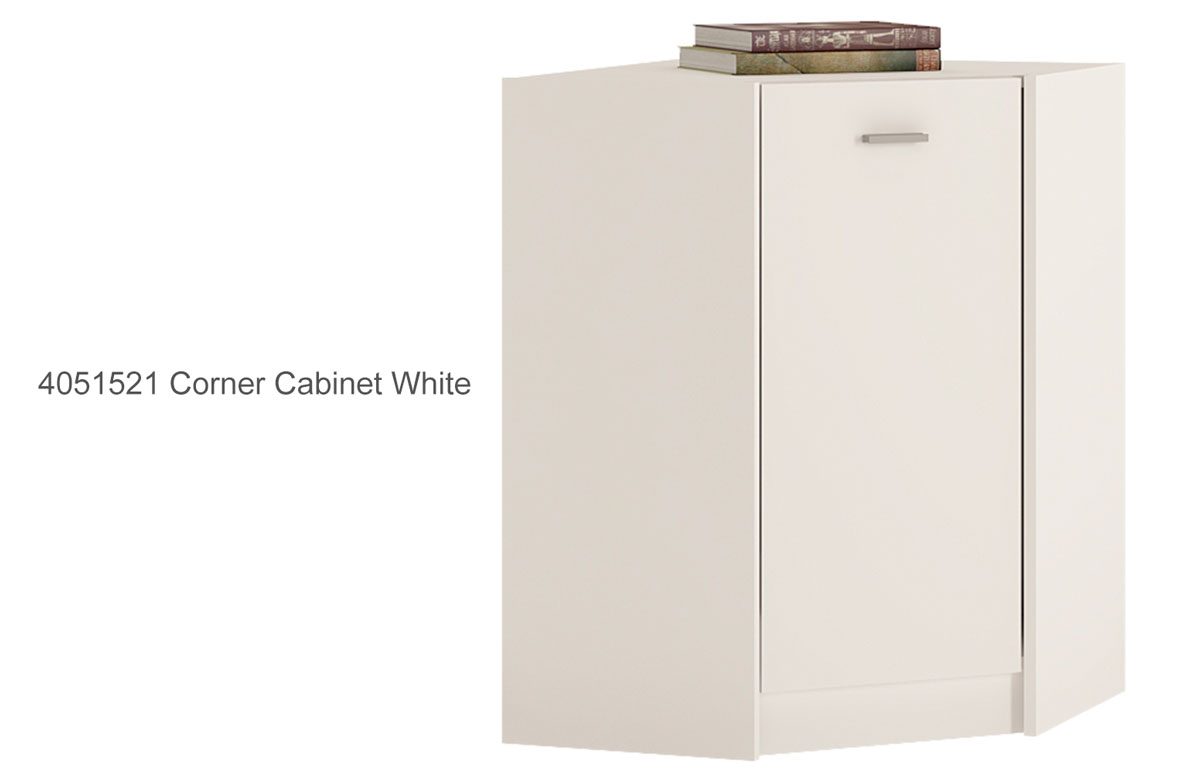 4050321 2 Door Cupboard White