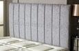 Amberley Chenille Headboard Light-Grey