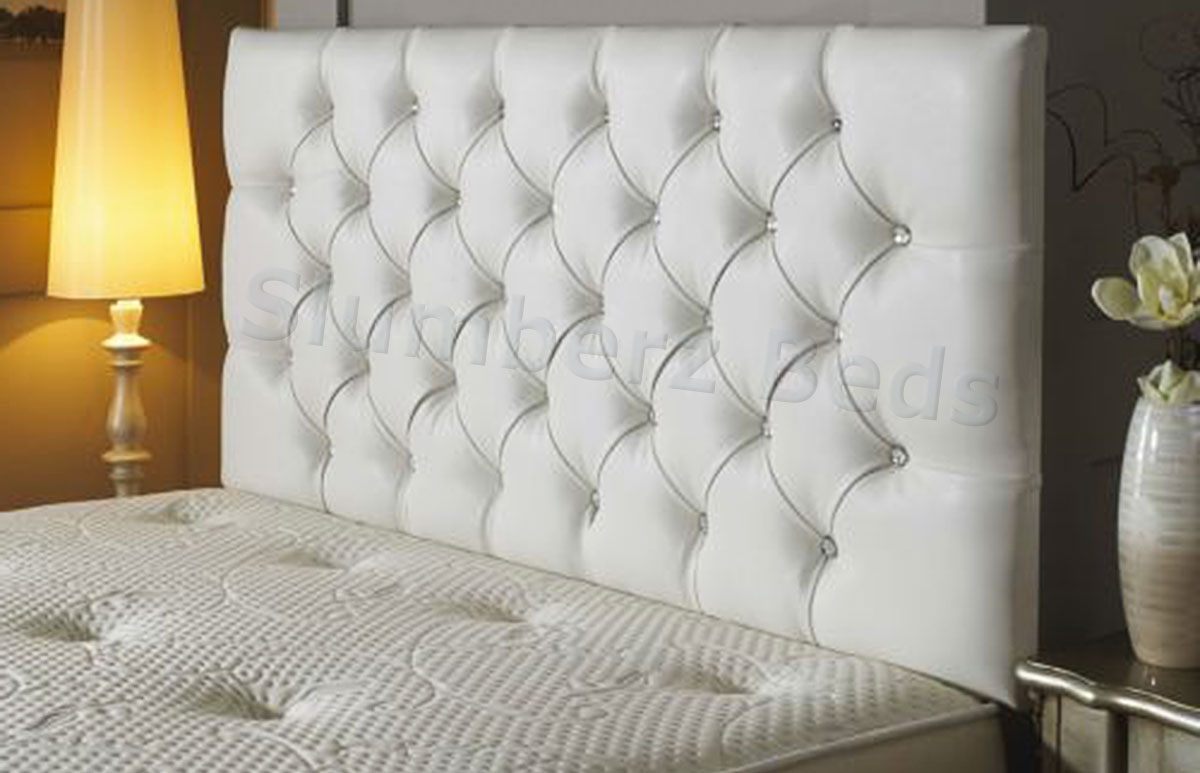 bedford buttoned faux leather headboard, Headboard designs