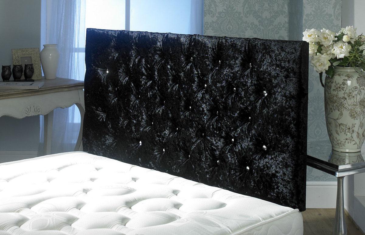 black velvet headboard  canihouse, Headboard designs