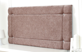 Idaho-Ch Border Design Chenille Headboard Mink