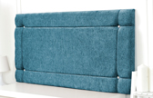 Idaho-Ch Border Design Chenille Headboard Teal