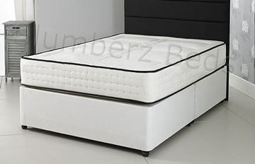 Divan Bed and 1500 Pocket Memory Foam Mattress 2J