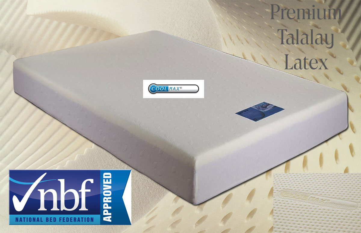 *EXPRESS FREE DELIVERY XD91 Ultimate Latex Mattress 11D
