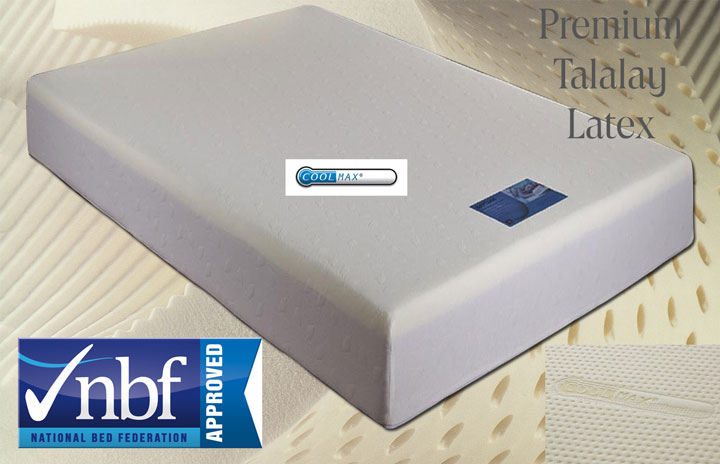 *EXPRESS FREE DELIVERY XG102 Ultimate Latex Mattress 11G