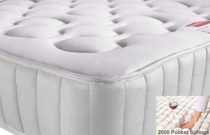 Value 2000 Pocket Memory Foam Mattress