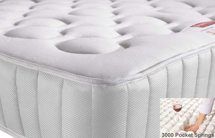 Value 3000 Pocket Memory Foam Mattress
