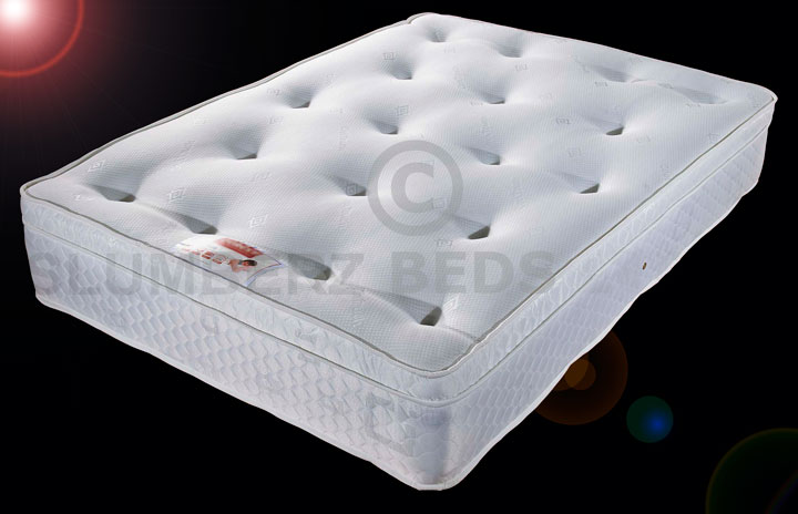 Special Offer 1500 Pocket Topper Memory Foam Mattress
