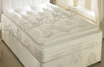 Pillow Top Mattress 1500 Pocket Sprung Memory Foam 2B