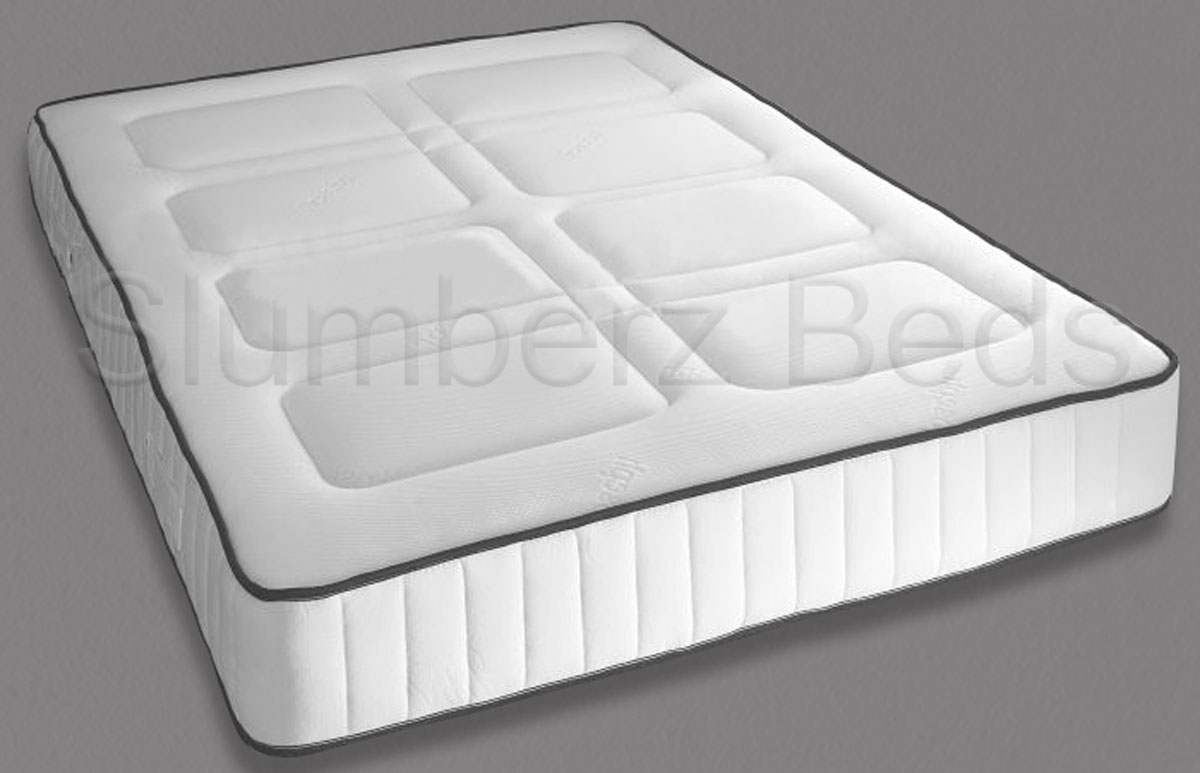 King Size Memory Foam 10 Inch Mattress With Duvet Pillows
