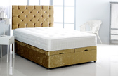 Alexis-Ottoman-Crushed-Velvet Ottoman Storage Bed In Crushed Velvet Gold