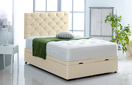 Alexis-Ottoman-Faux-Leather Ottoman Storage Bed In Faux Leather Cream