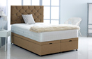Alexis-Ottoman-Linen Ottoman Storage Bed In Linen Brown