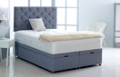 Alexis-Ottoman-Linen Ottoman Storage Bed In Linen Denim