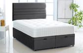 Alexis-Ottoman-Plush-Velvet Ottoman Storage Bed In Plush Velvet Black