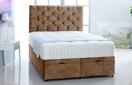 Alexis-Ottoman-Velvet Ottoman Storage Bed In Plain Velvet Beige