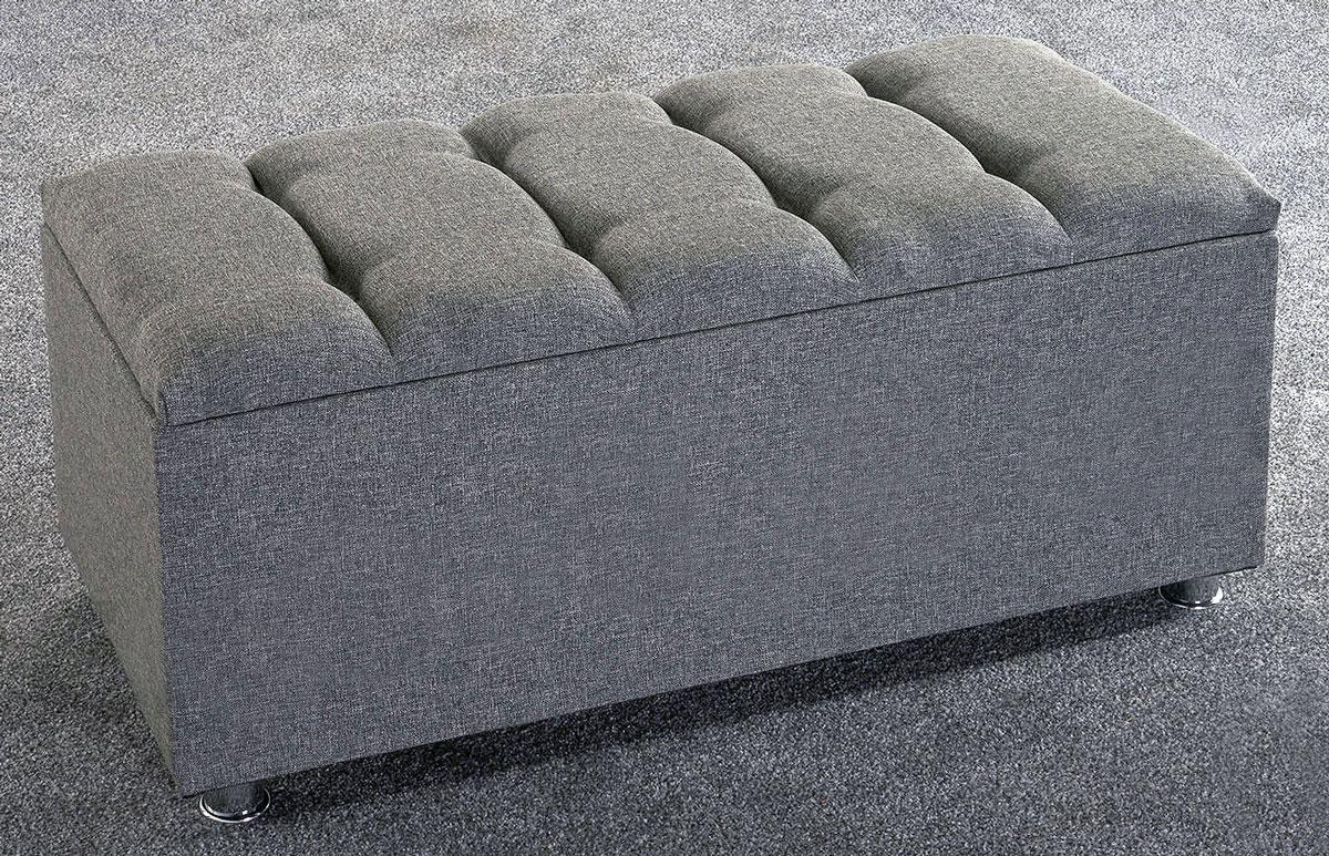 New Ottoman Storage Blanket Box Linen