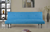 Capri Fabric Sofabed Blue