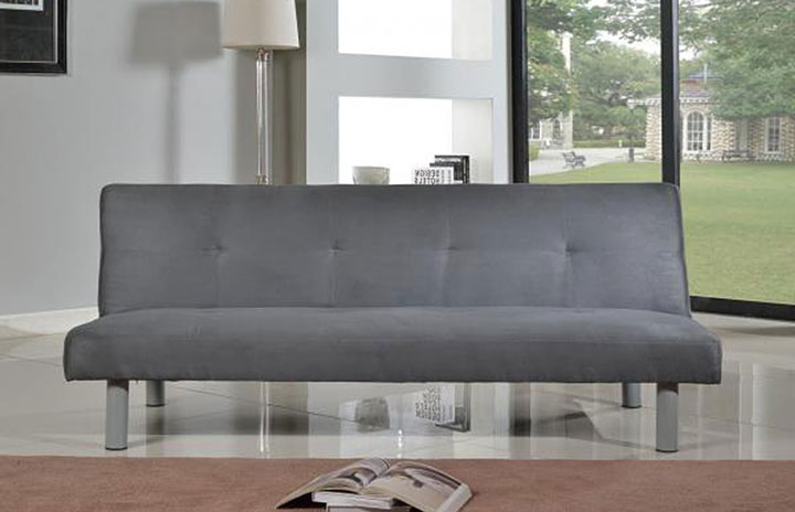 Capri Fabric Sofabed Grey