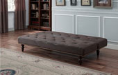 Chester Antique Style Faux Suede Sofabed 2