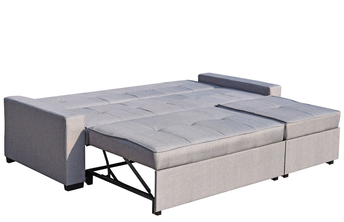 Serra L Shaped Sofa Bed