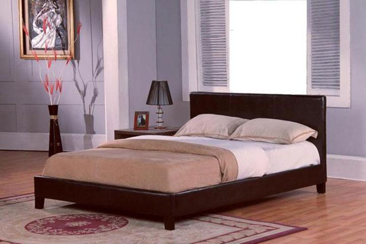Verdelho Leather Bed Frame